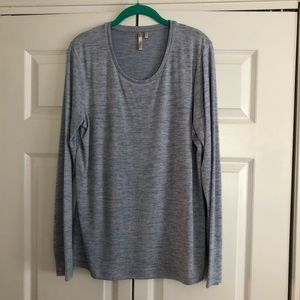 2 lightweight long sleeved sweaters
